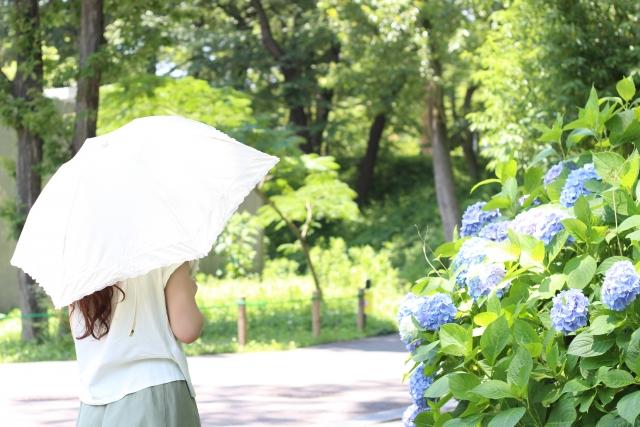 日傘は完全遮光のUVカット100%が良い理由!寿命や効果的な色についても