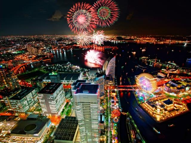 横浜開港祭2018の花火の日程と時間は?打ち上げ場所や交通規制も。