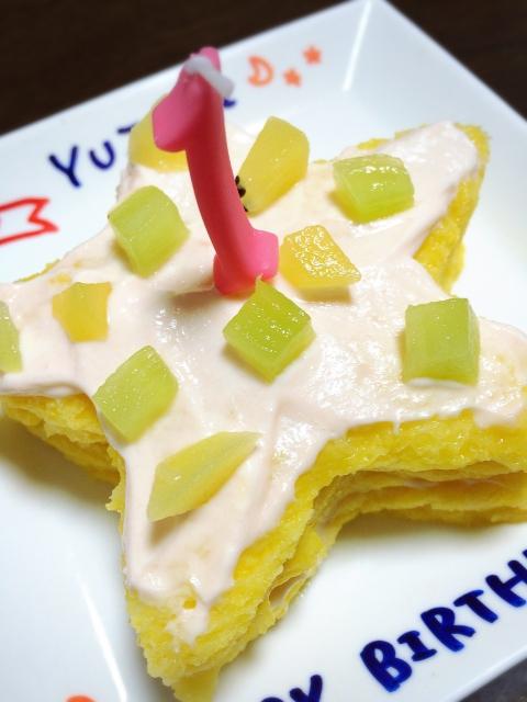 1歳の誕生日ケーキ手作りレシピ24選!食パンやホットケーキミックスを使ったアイデア集
